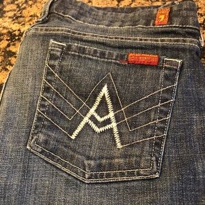 7 For All Mankind. Bootcut jeans.